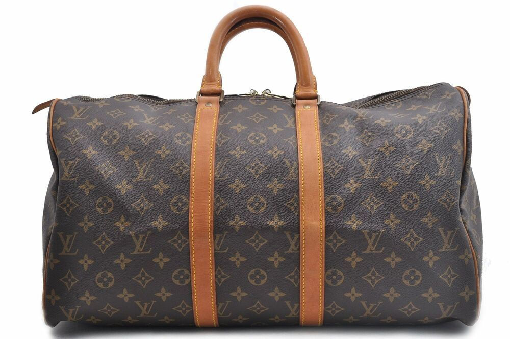 06e8d7de eBay Ad) Authentic Louis Vuitton Monogram Keepall 45 Boston Bag ...