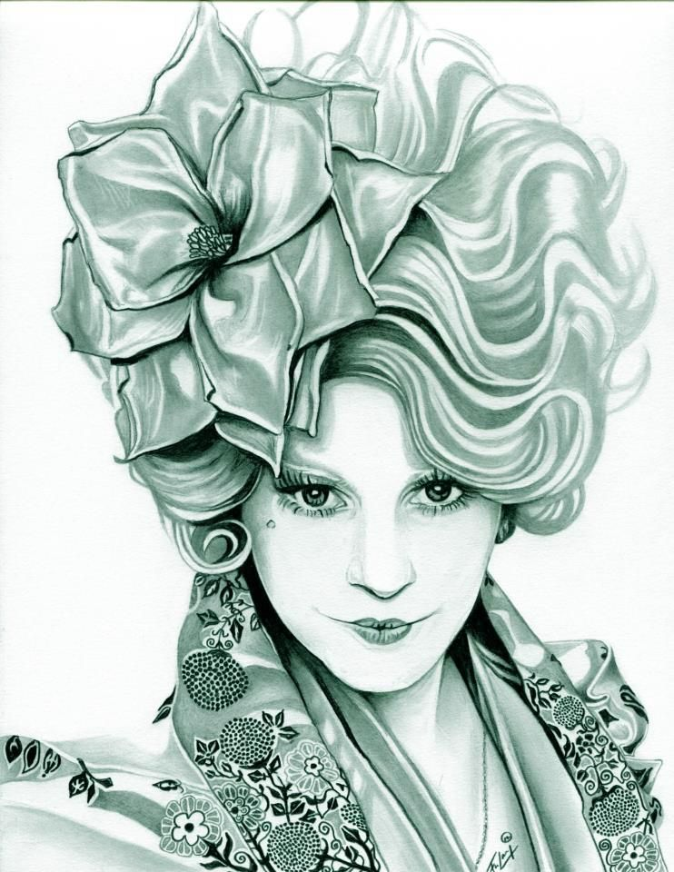 Effie Trinket The Hunger Games (Pewter) by TheNightGallery ...