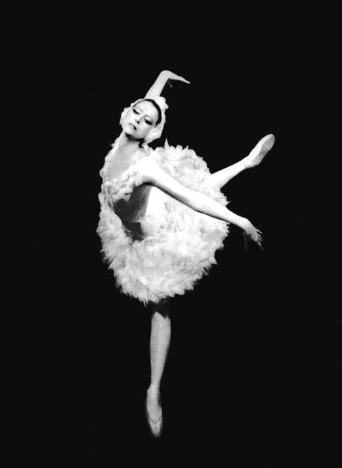 Plisetskaya dying swan