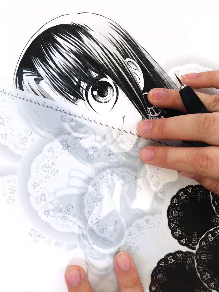 How To Ink Manga Like A Pro Manga Black And White White Ink