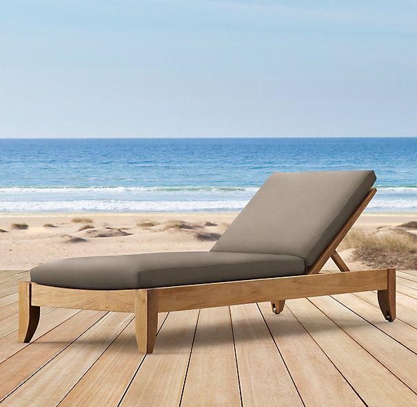 Santa Barbara Armless Chaise Cushion