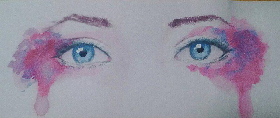 Tiffany Hirota to Desenh4ndo - Olhos de Aquarela