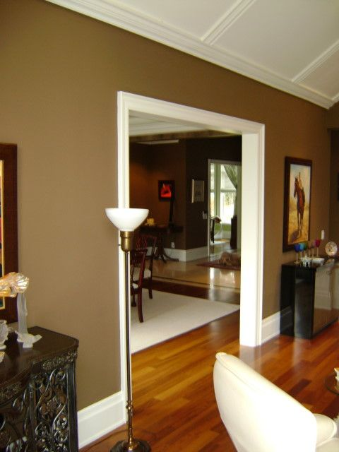 Lovin The Shades Of Chocolate Brown Downtown House
