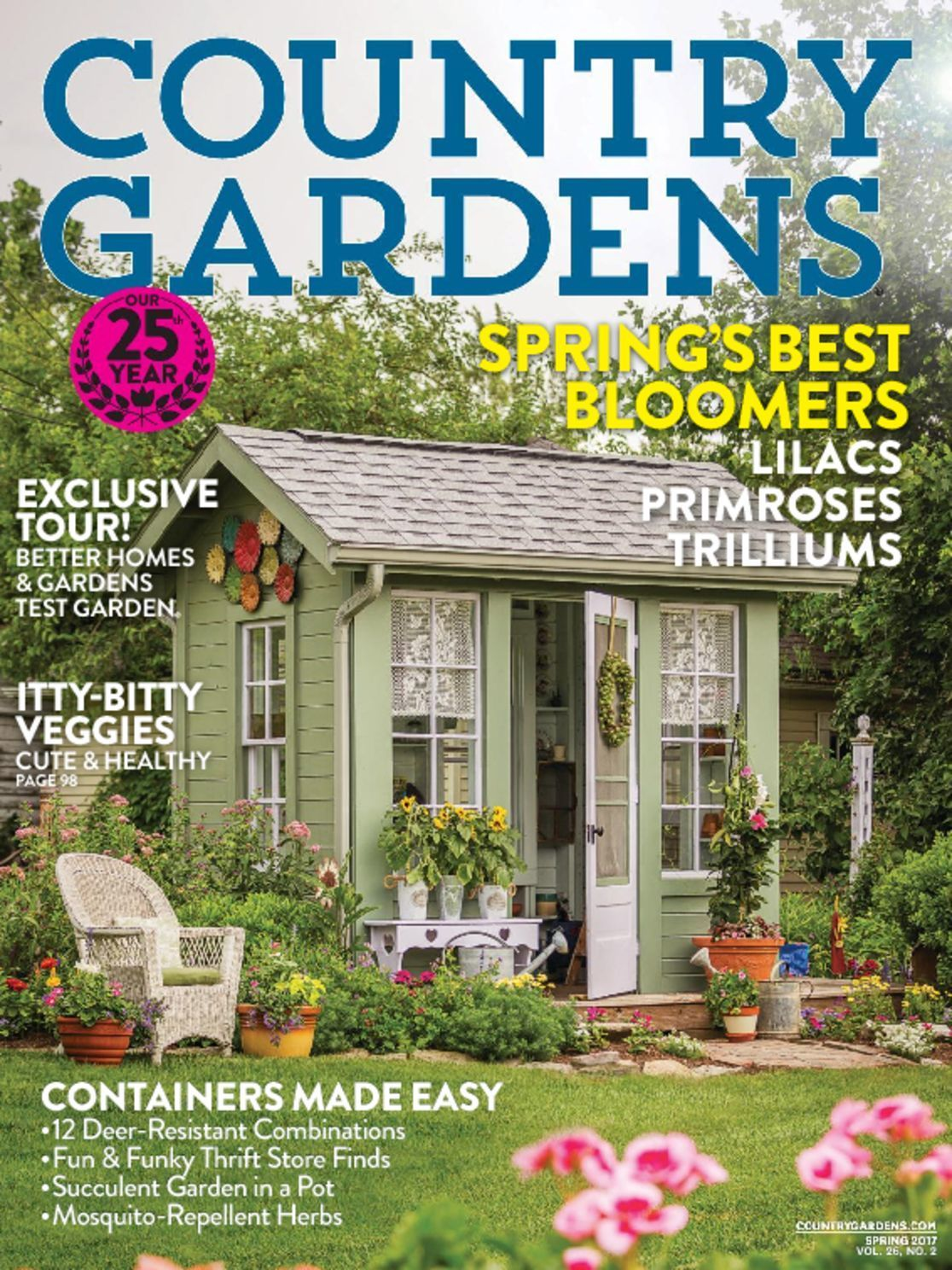 landscaping magazine subscription