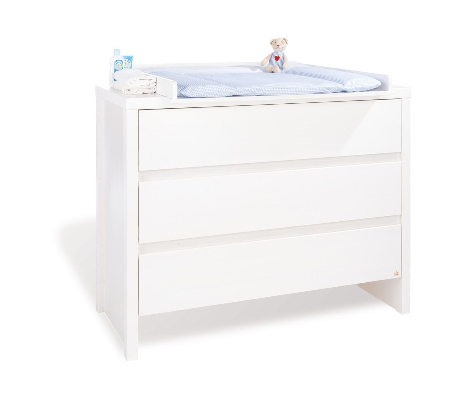 Commode Langer Extra Large Aura En Massif Lasur Blanc For My  # Commode Laquee Blanche Avec Tiroirs Rabattables