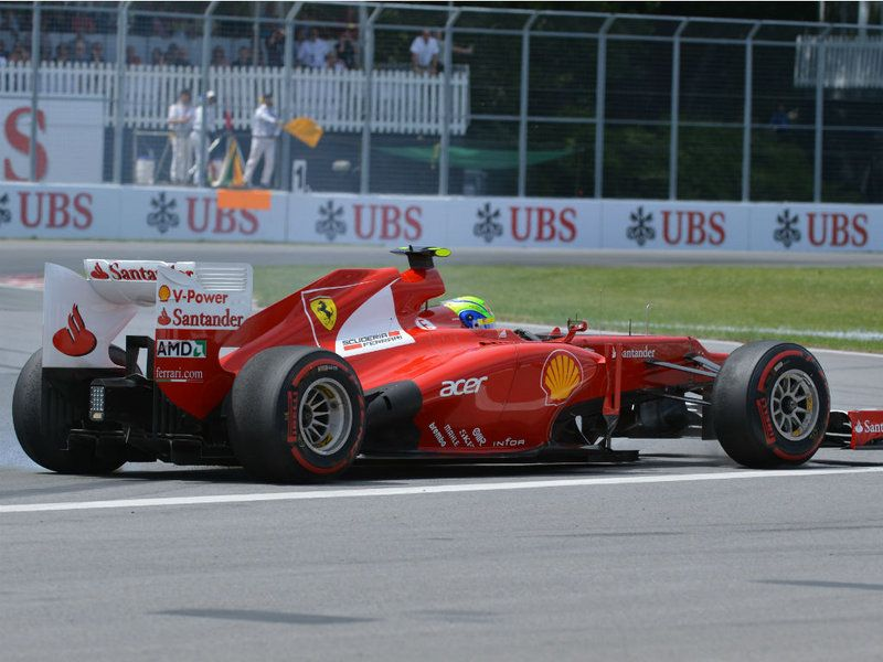 Canadian GP - Sunday Pics  Felipe Massa spins
