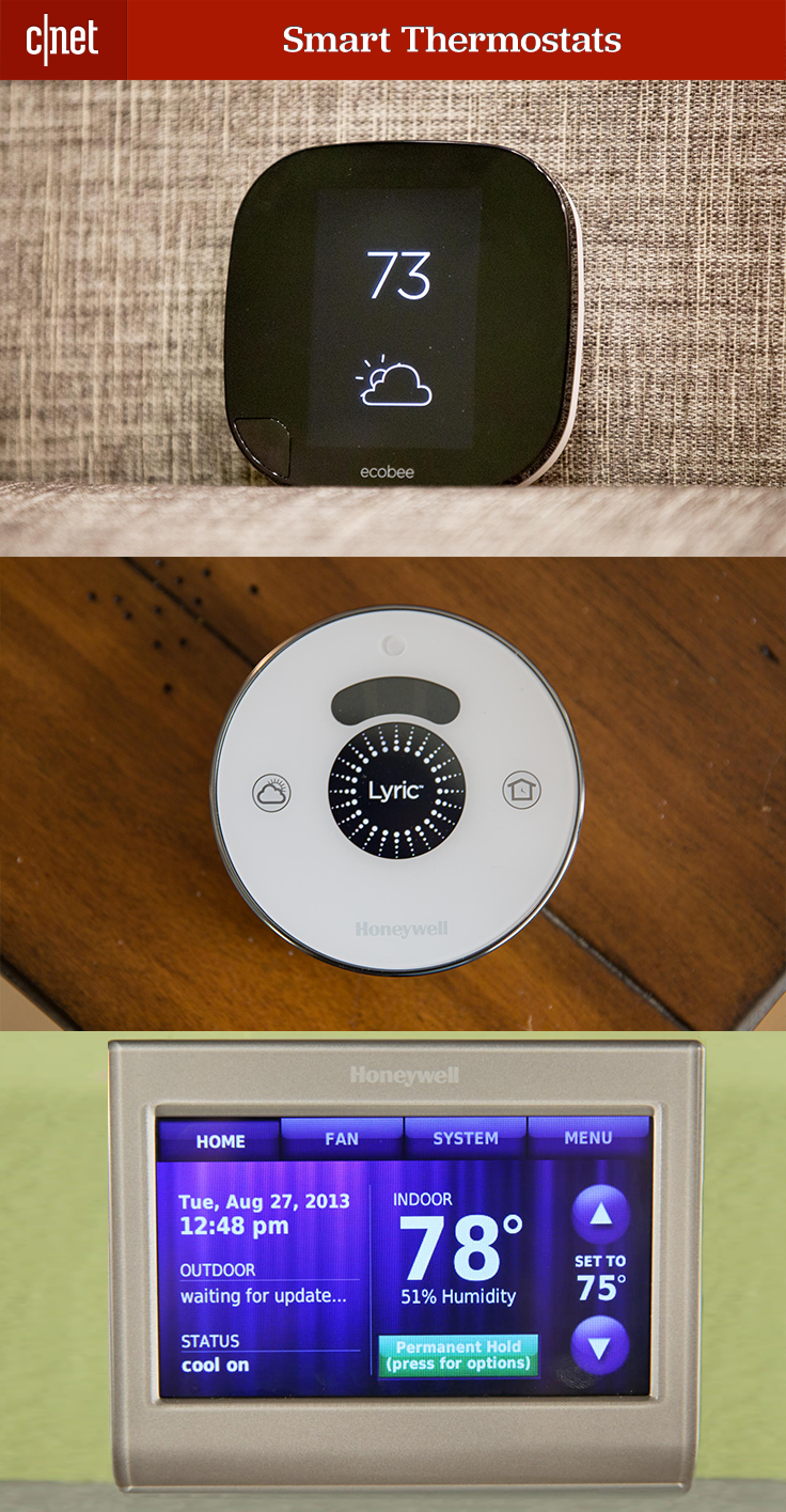 11 smart thermostats worth warming up to dream home smart home automation smart home. Black Bedroom Furniture Sets. Home Design Ideas