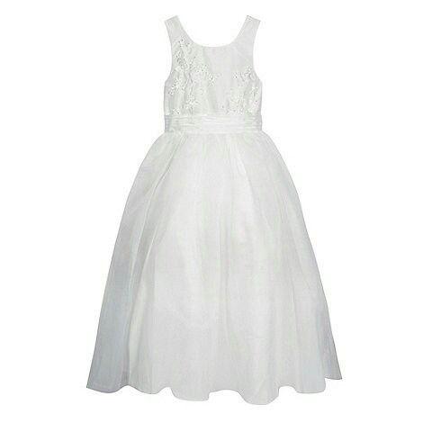 7b09fd6fe0c Princhar Tulle Flower Girl DressJunior Bridesmaids Dress Little Girl