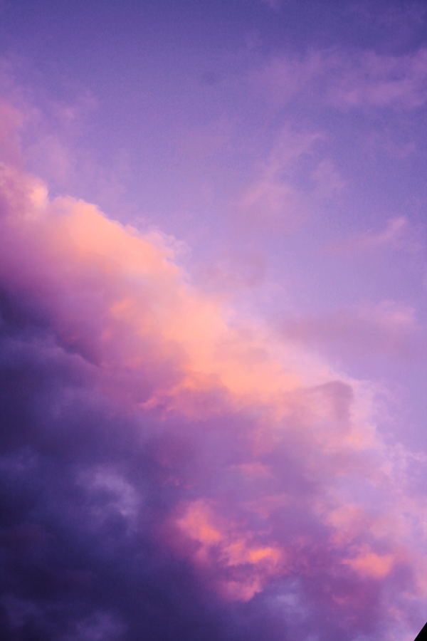 Purple Night Sky Aesthetic