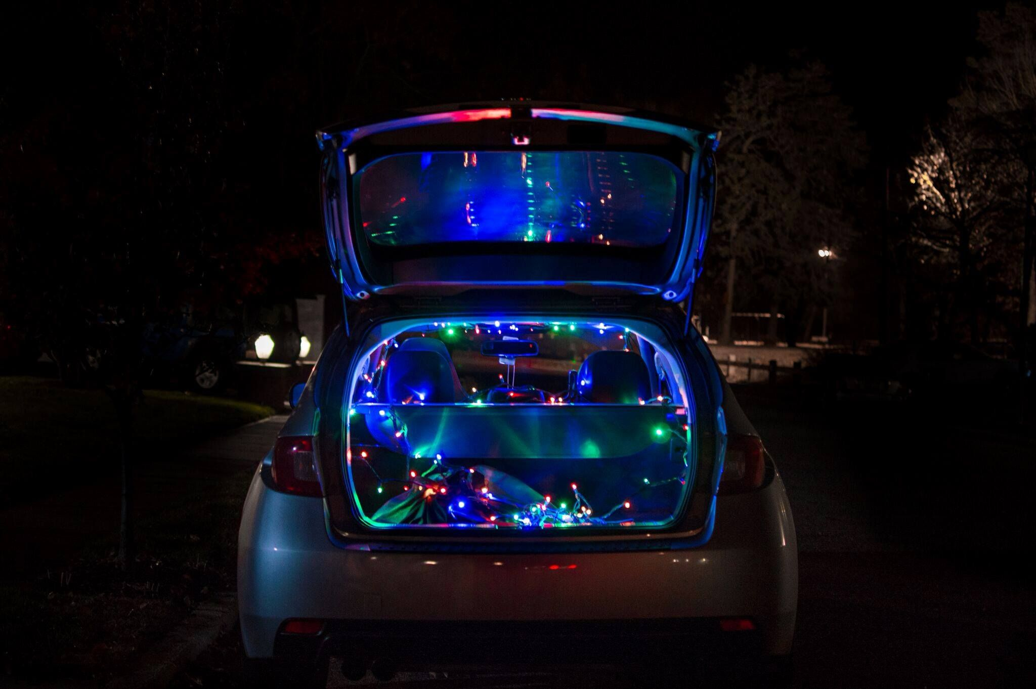 All Done Up In Lights For Wrxmas Photo Courtesy Andrew Troiano Subaru Light Accessories Holiday Spirit