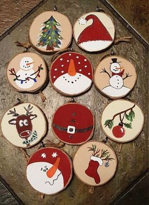 Photo of 35 ideas for tinkering with wooden discs: decorate creatively and close to nature for Christmas – living ideas and decoration