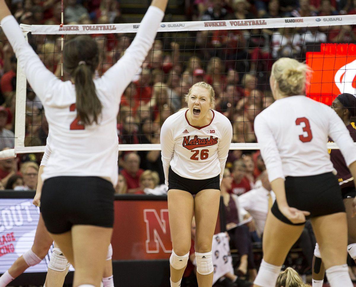 Pin On Nebraska Volleyball