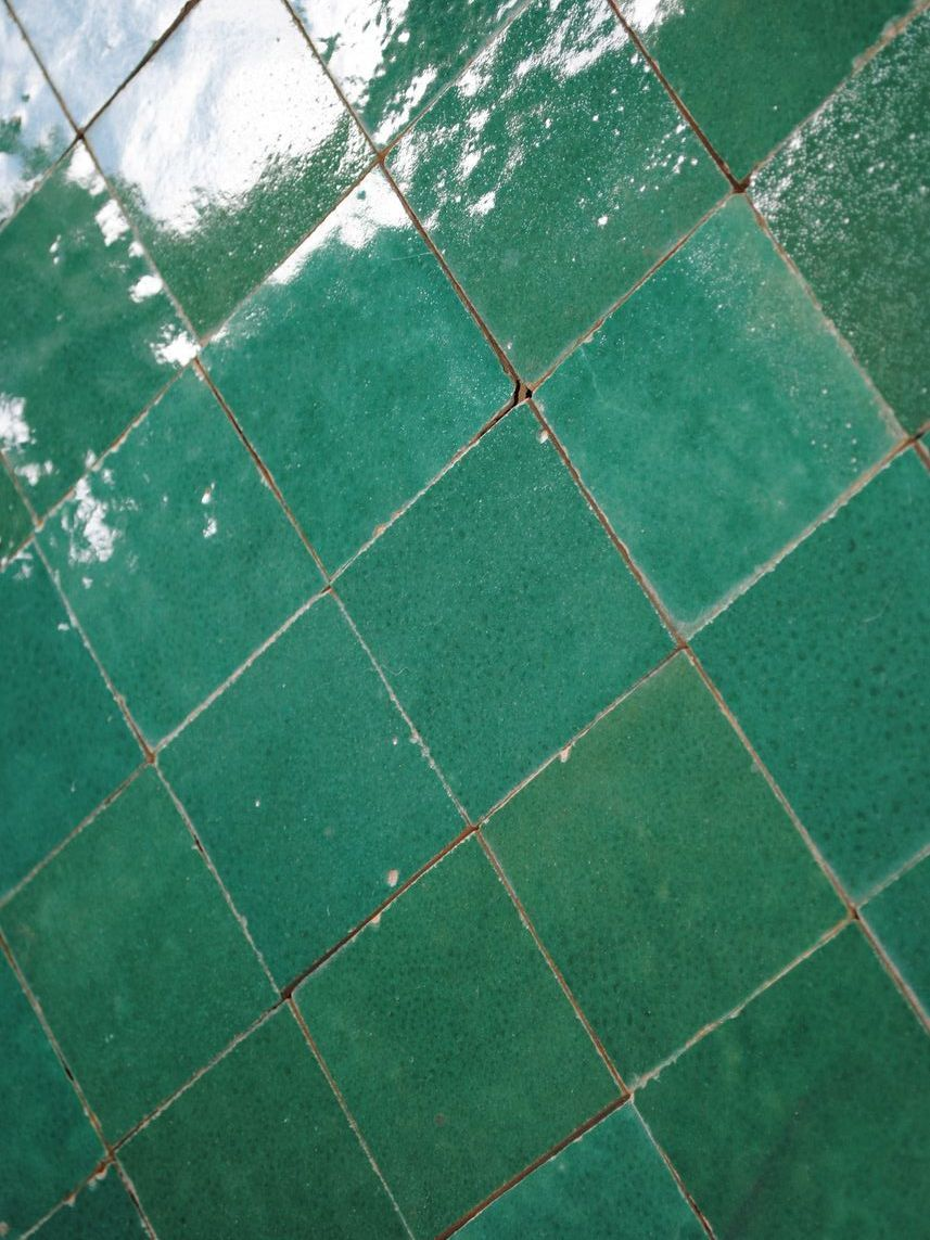Carrelage Salle De Bain Vert Emeraude ~ la d co couleur vert meraude effet feel good assur green walls