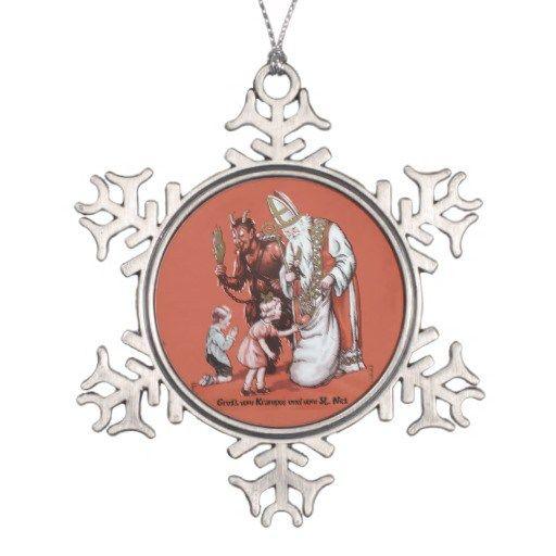 naughty or nice krampus santa christmas ornament chrismastre pinterest santa christmas christmas ornament and santa