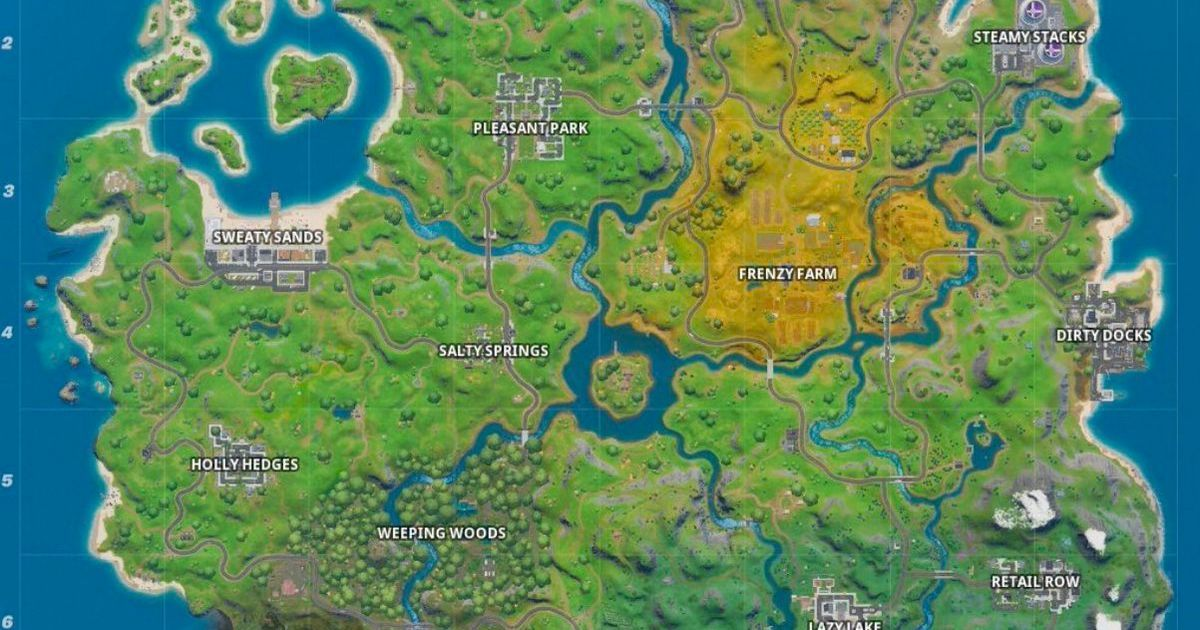 Fortnite Chapter 2 Finally Launches Here S A Look At The New Map