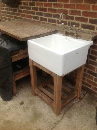 Old Butler S Sink Outside Kitchen Home Kitchen Cafe Butler Sink Outside Sink Outdoor Sinks