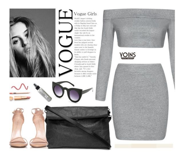 """Yoins 30"" by merima-kopic ❤ liked on Polyvore featuring Dauphine, Stuart Weitzman, yoins, yoinscollection and loveyoins"