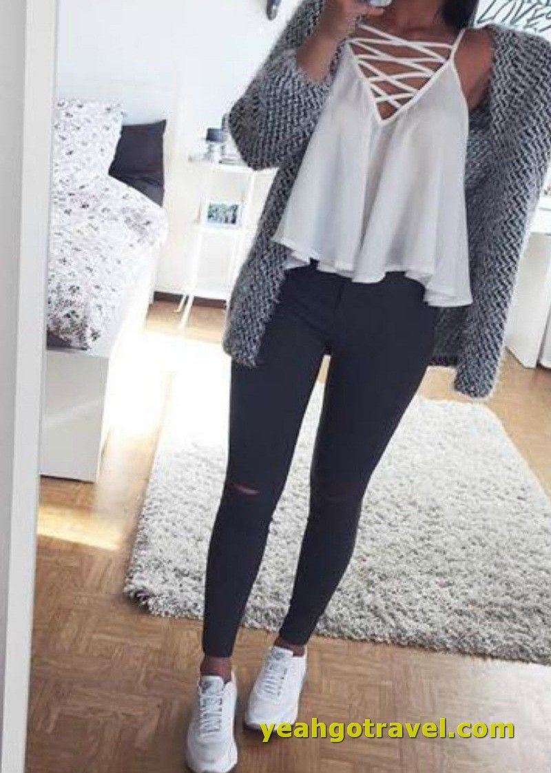30 Casual Winter Outfits For Teen Girls