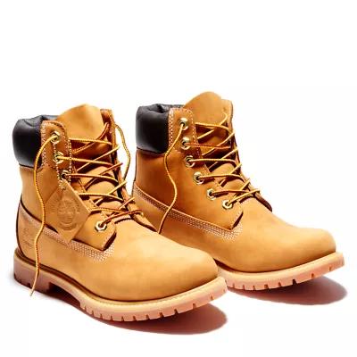 Women S 6 Inch Premium Waterproof Boots Timberland Us Store Womens Work Boots Timberland Boots Girls Work Boots Timberland