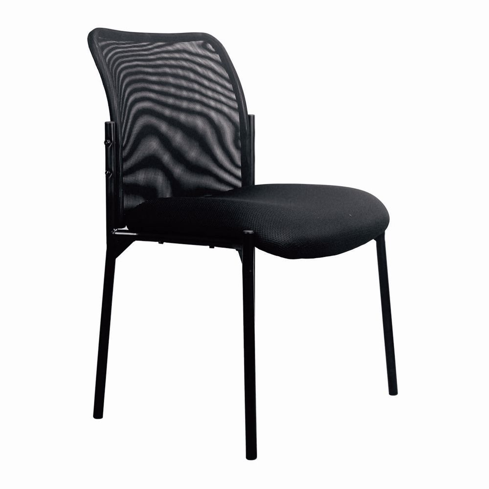 Mesh Back Side Chair | Side chairs, Chair, Office guest chairs