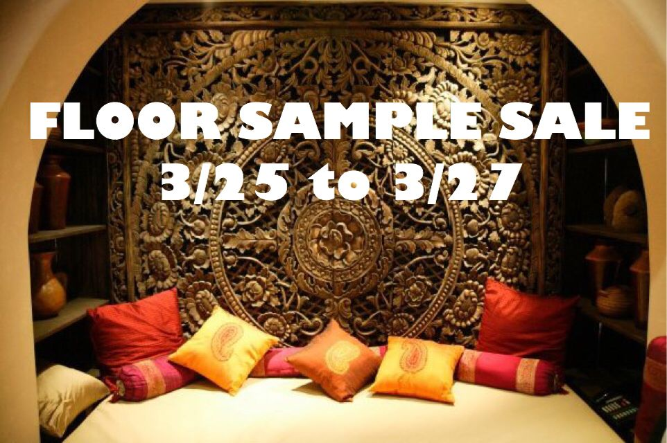 We have our annual floor sample sale between 3/25 to 3/27.  #RusticHomeSanDiego