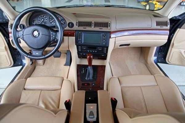 The Transporter S Understudy Supercharged 2001 Bmw 740i M Sport