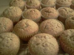 Super Moist Banana Nut Muffins Recipe  - I made to recipe except i added about 1/4 cup of buttermilk and 1/2 tsp of nutmeg.  DELISH!!