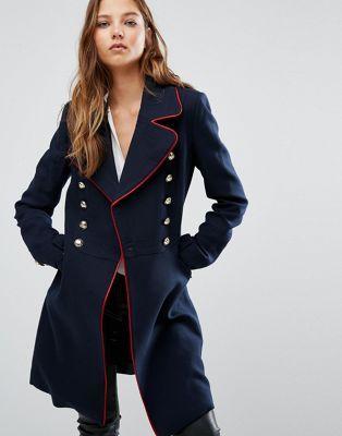 scorpio military coat - Mango Double Breasted Military Coat ...
