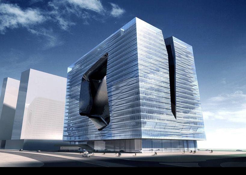 Modern Architecture Zaha Hadid zaha hadid: the opus building memelia hotel, dubai