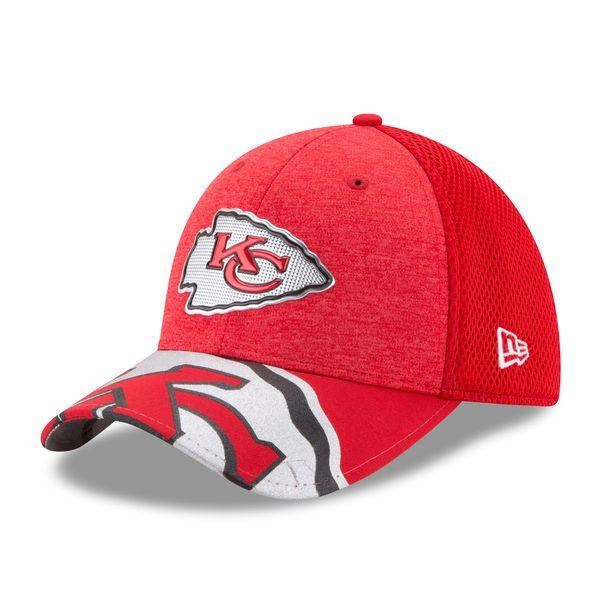 best website 594c1 4b6e4 Kansas City Chiefs New Era Youth 2017 NFL Draft On Stage 39THIRTY Flex Hat  - Red -  27.99
