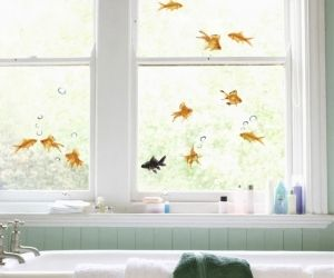 GoldFish Window Decals