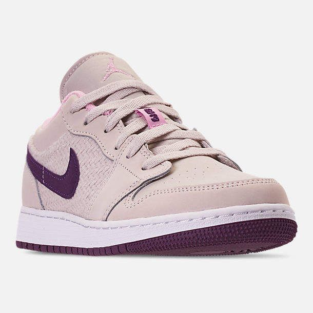 official photos 69a1b 54ee9 Nike Girls  Big Kids  Air Jordan 1 Low (3.5y - 9.5y