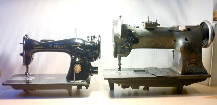 The Vintage Singer Sewing Machine Blog The Difference Between New Craigslist Industrial Sewing Machine