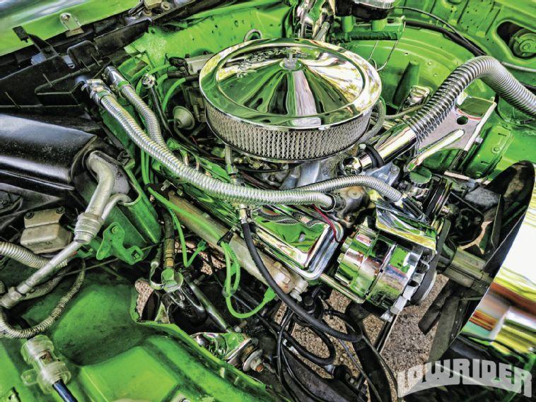 El Camino Lowrider Engine Compartment Chevrolet El Camino