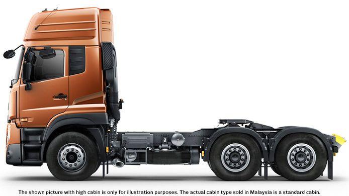 Quester Gwe Nissan Ud 6x4 Tractor Truck Trucks Nissan Nissan Trucks