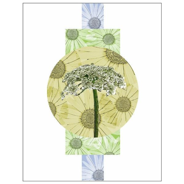 Botanical Art Print Queen Anne's Lace Modern Minimalist Wall Abstract... (€11) ❤ liked on Polyvore featuring home, home decor, wall art, photo wall art, blue and white home decor, green home decor, textured wall art and gold home accessories