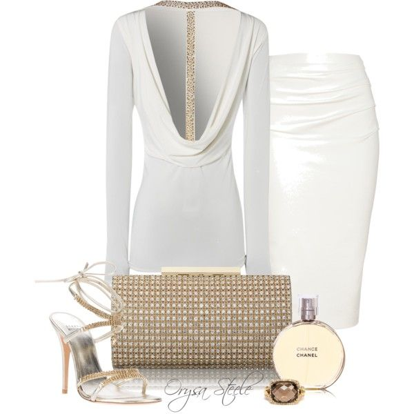 Vision in White, created by orysa on Polyvore