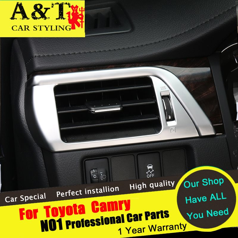 A&T For Toyota Camry Vent decorative frame chrome trim car