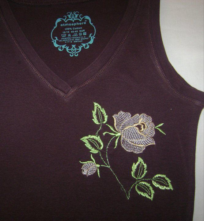 Embroidered Free Rose Design Free Embroidery Designs Gallery