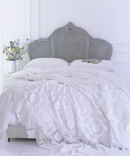 Rattan Bedroom Sets Asian Paints Bedroom Colours Combination Bedroom Renovation French Style Bedroom Chairs: Bespoke Painted Lille Rattan Headboards