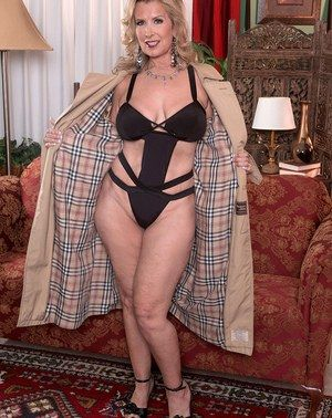 blonde grannies Hot 60 plus