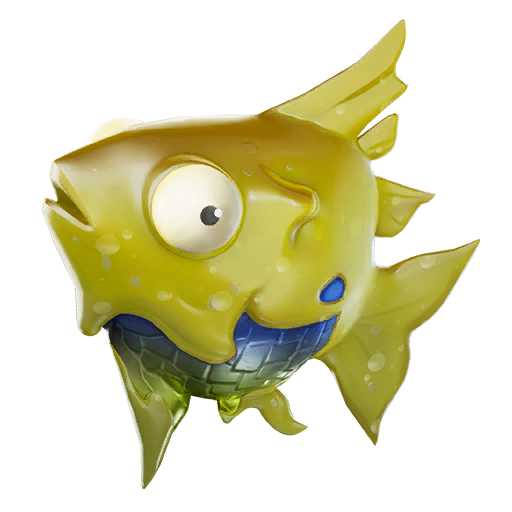 Consume For Juicy Health Or Shield Fish Fortnite Yellow
