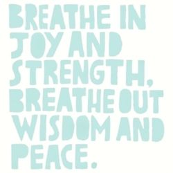 Quote. peace. joy. wisdom
