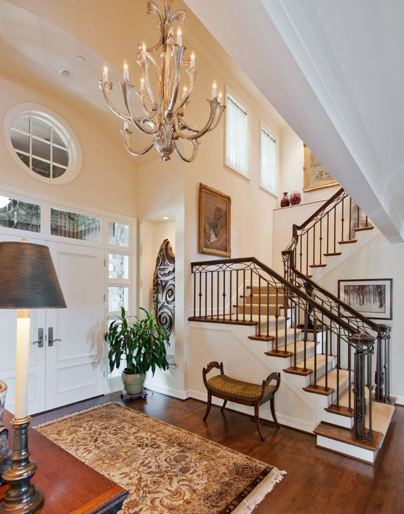 Hallway rug ideas  Beautiful entryway  Houses Inside and Out  Pinterest  Staircases