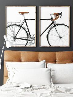 Bicycle Print Scandinavian Art Minimalist #art #print #digital @EtsyMktgTool #bicycleprint #bikeart #scandinavianbicycle #bicycledecor