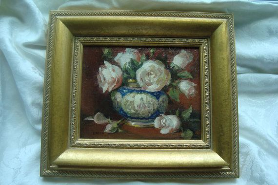 Chinoiserie Oil Painting  Darling House