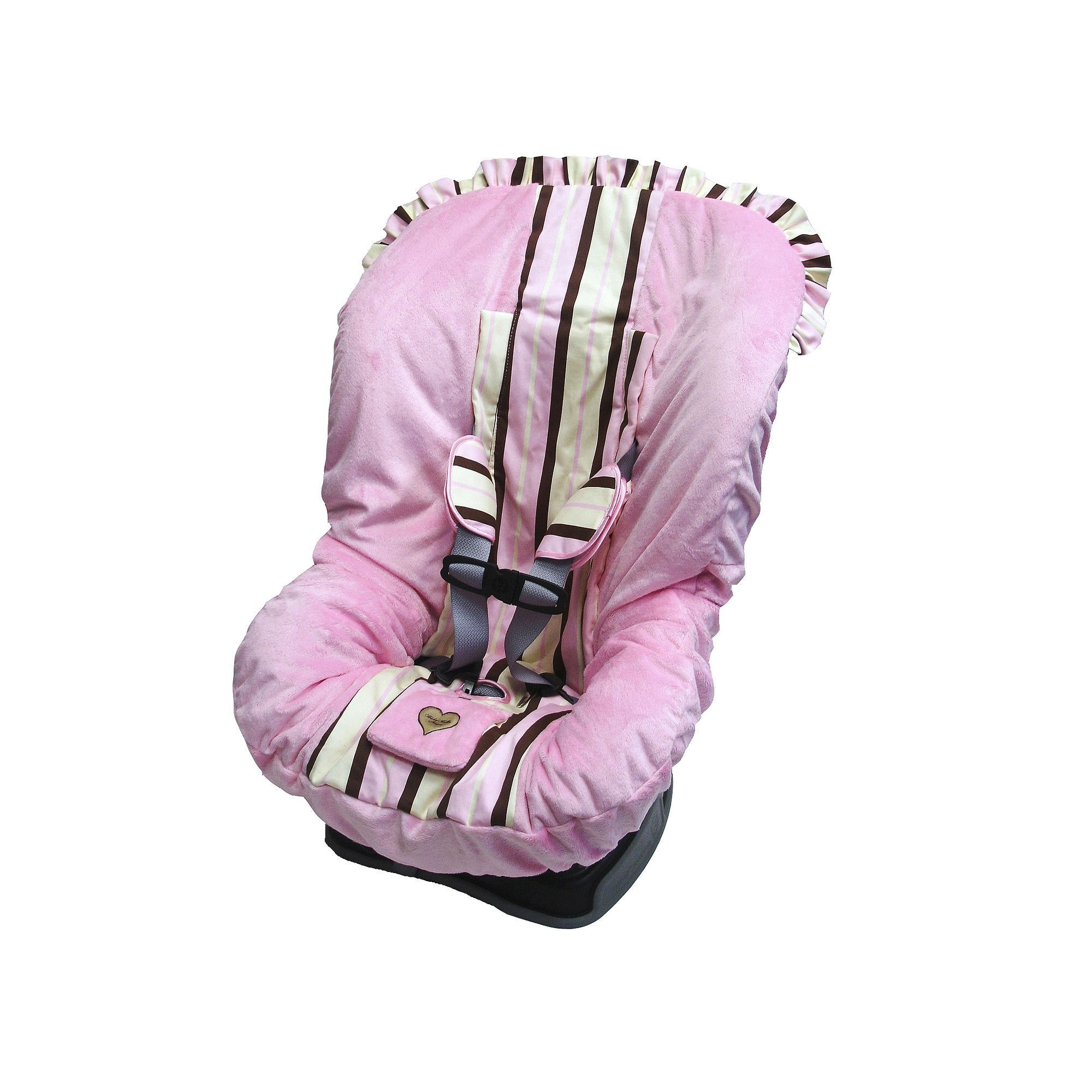 Baby Bella Maya Pixie Stix Toddler Car Seat Cover, Pink | Pixy stix
