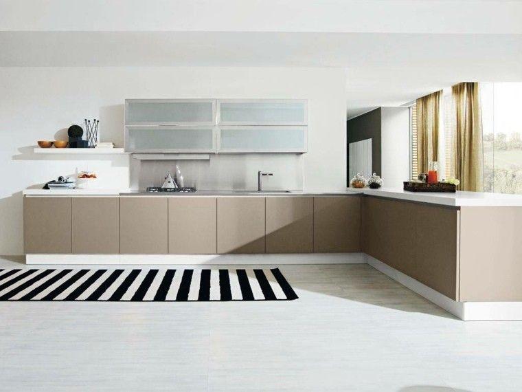 Decoración de interiores cocinas modernas con estilo Cocina