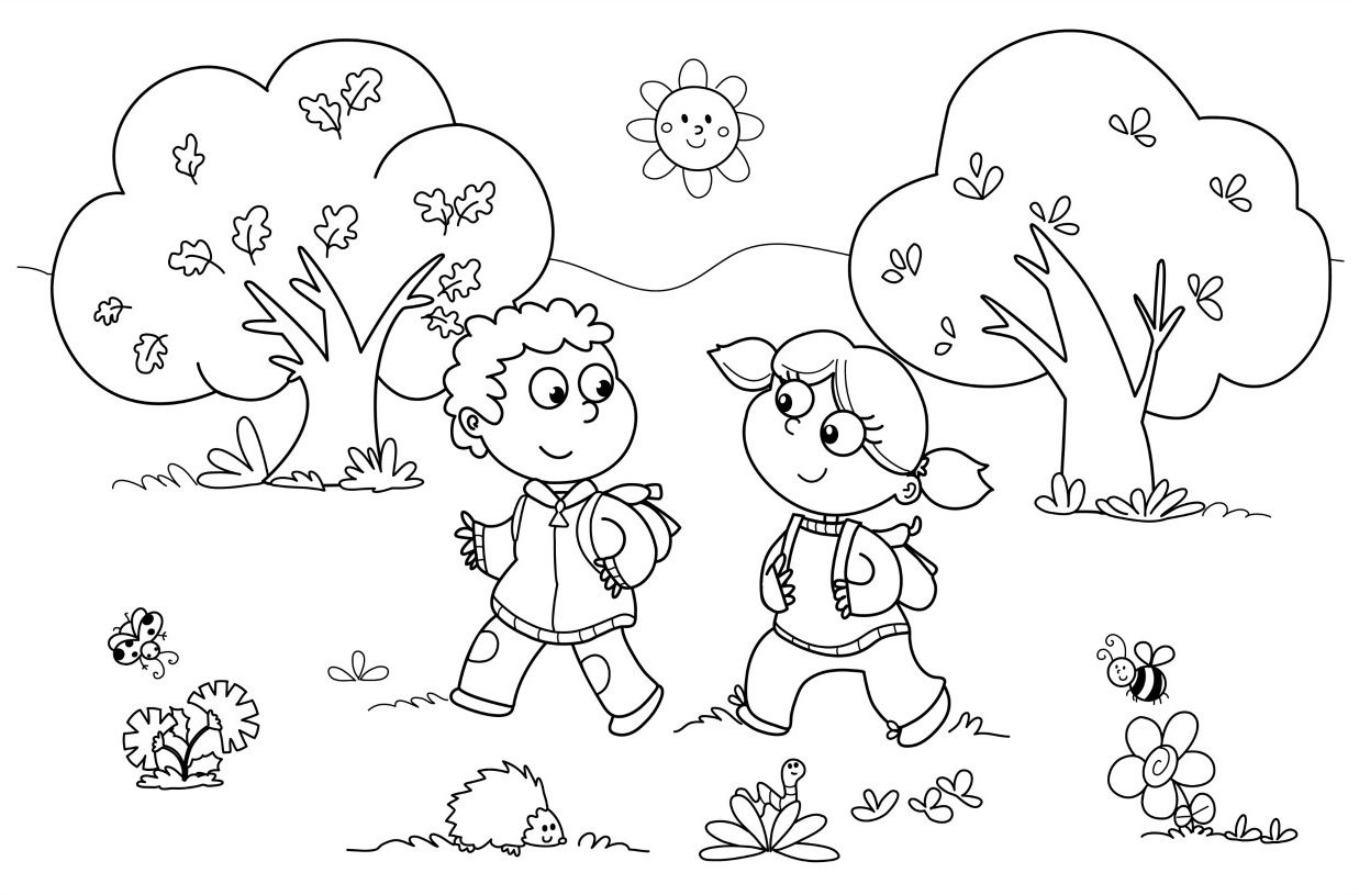 Printable Coloring Games For Kids