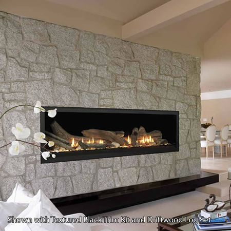 ... Installation And Service Of The Aura Direct Vent Gas Fireplace. Perfect  For Expansive Spaces, This Breathtaking Linear Fireplace Offers A Viewing  Area.